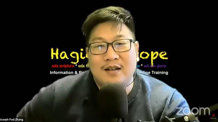 Jozeph Paul Zhang Diduga Hina Islam, Muannas Alaidid: Demi Allah Saya akan Kejar Anda